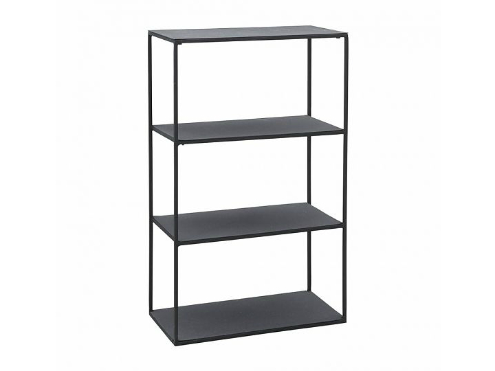 House Doctor - Producten - House-Doctor-open-kast-Rack-model-B-50-x-25-x-80-cm-zwart-metaal-SP0421-def3