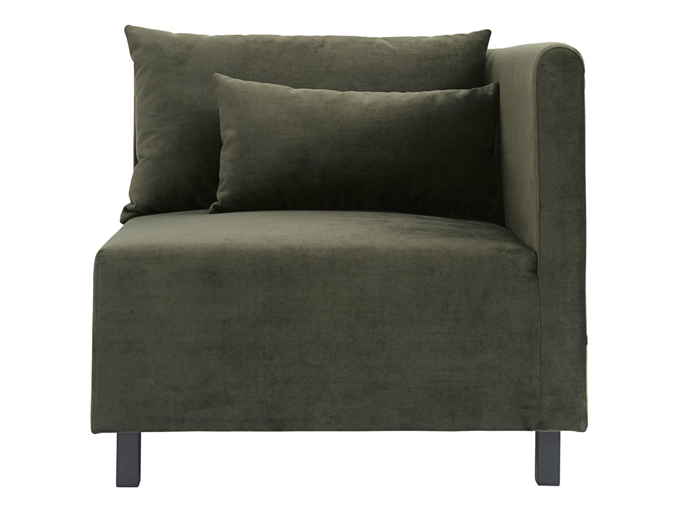Banken - Housedoctor-bank-sofa-element-groen-corner-hoekelement-85x85x77cm-defdef