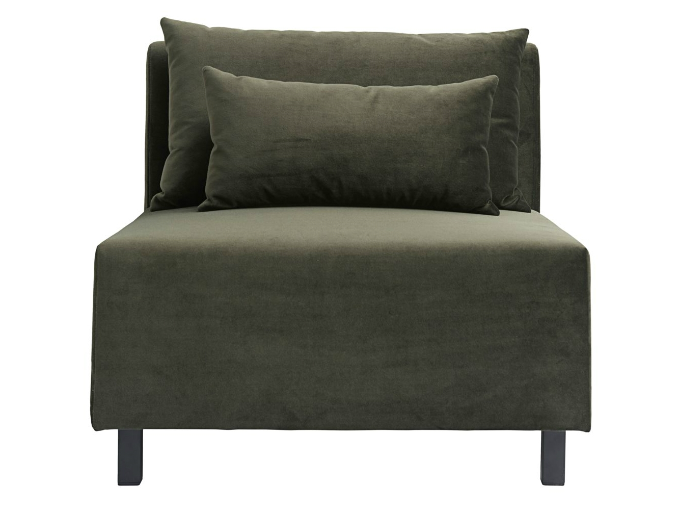 Banken - Housedoctor-bank-sofa-element-groen-middle-middenelement-85x85x77cm-xzh-44-cm-def