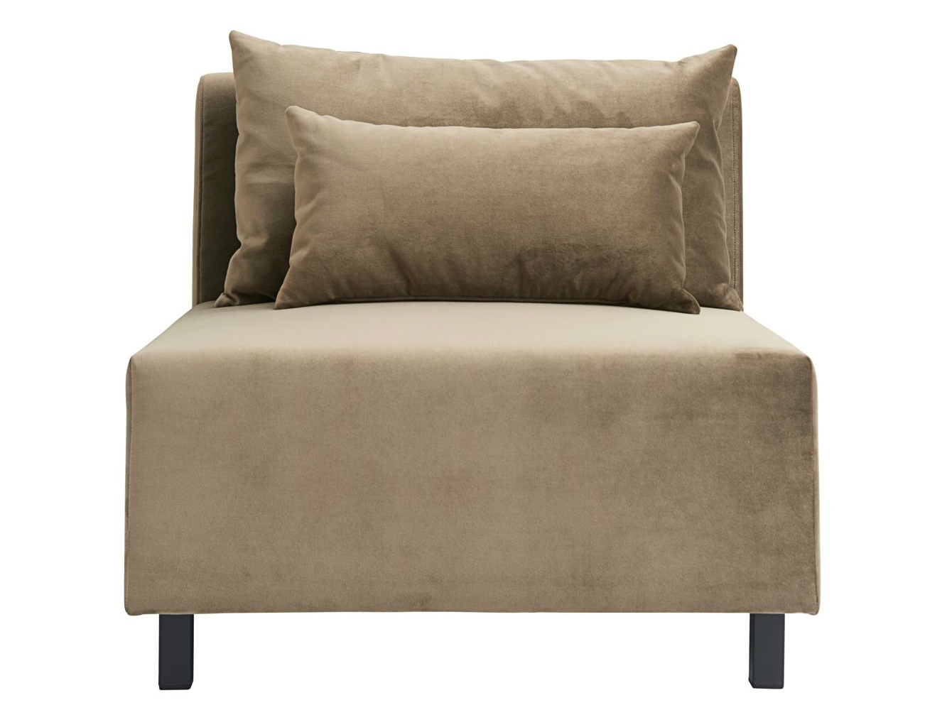 Banken - Housedoctor-bank-sofa-element-zand-bruin-velvet-middenelement-85x85x77-cm-def