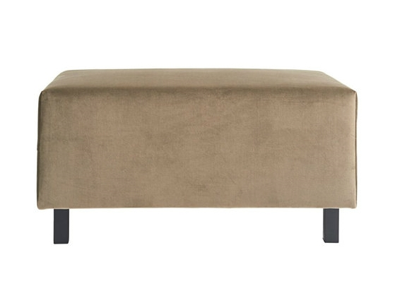 Banken - Housedoctor-hocker-sofa-element-zand-bruin-85x60x44cm-def