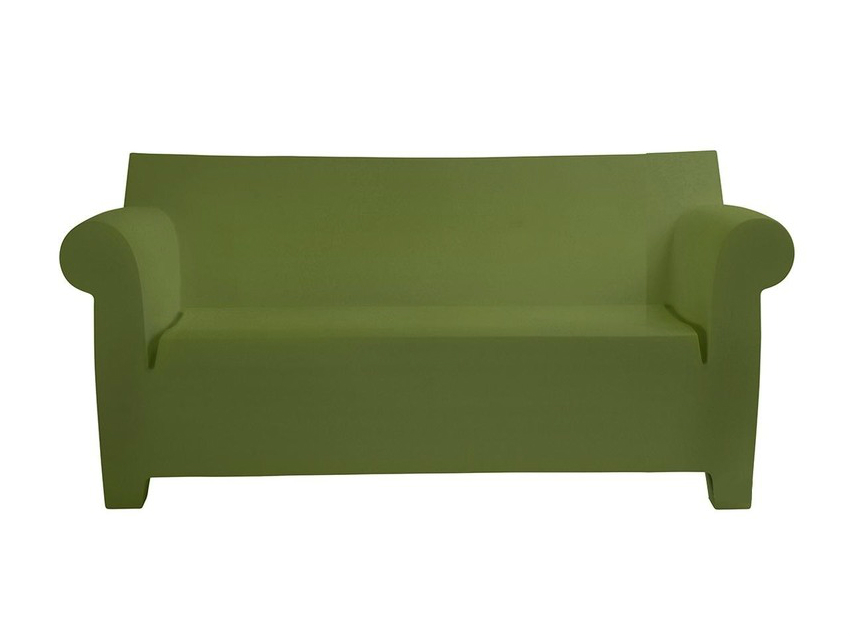 Kartell-tuinbank-Bubble-Club-olive-green-def2