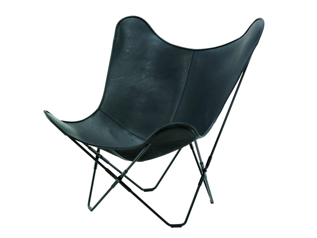 Stoelen - stoel-Mariposa-leather-black-4